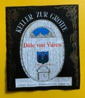 15366 - Keller Zur Grotte Dôle Von Varen Albert Plaschy - Otros