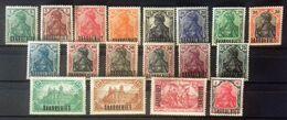 Sarre, Timbres Neufs * * (MNH), Série De 1920 Complète Et Impeccable, Cote 75 Euros - Collections (without Album)