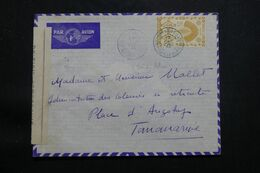MADAGASCAR - Enveloppe Pour Tananarive En 1943 Avec Contrôle Postal, Voir Oblitération En Bleu - L 64948 - Madagascar (1889-1960)