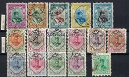 IRAN Ca. 1910-1920: Lot D'oblitérés - Iran