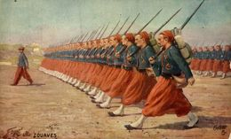 Les Zouaves. WWI WWICOLLECTION - Weltkrieg 1914-18