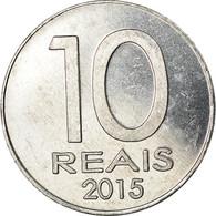 Monnaie, CABINDA, 10 Reais, 2015, 40ème Anniversaire De L'Indépendance, SPL - Angola