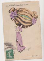Cpa  Fantaisie Signée Robé  / Les Chichis De La Femme. Mode-1910  .Coiffure Extravagante - Illustrateurs & Photographes