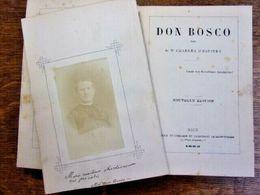 Don Bosco. Dr Charles D'Espinay. + Photo Albuminée & Autographe. 1883 - 1801-1900