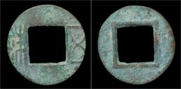 China Liang Dynasty Emperor Wu - Wu Zhu Cash - Cina