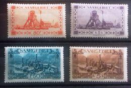 Sarre 1927, Timbres Neufs * * (MNH), 115,116, 117, 120, Cote 66 Euros - Timbres