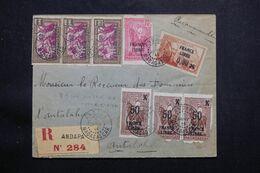 MADAGASCAR - Enveloppe En Recommandé De Andapa Pour Antalaha  En 1944,affranchissement France Libre  - L 64949 - Madagascar (1889-1960)