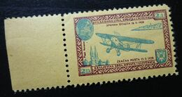 Yugoslavia Non Postal Stamp Cinderella Airmail Airplane Plane  C62 - Collections, Lots & Séries