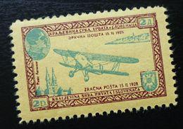 Yugoslavia Non Postal Stamp Cinderella Airmail Airplane Plane  C64 - Collections, Lots & Séries