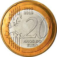 Monnaie, CABINDA, 20 Macutas, 2019, 20ème Anniversaire De L'Euro, SPL - Angola