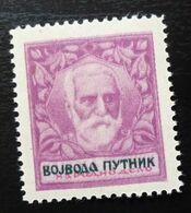 Yugoslavia Non Postal Stamp Cinderella National Work Vojvoda Putnik Army Military History  C66 - Collections, Lots & Séries