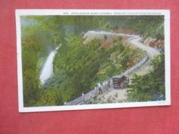 Appalachian Scenic Highway Crossing Blue Ridge Mountain  North Carolina       Ref 4239 - Etats-Unis
