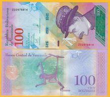 Venezuela 100 Bolivares P-106 2018 REPLACEMENT UNC Banknote - Venezuela