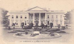 USA146  --  WASHINGTON D. C. --  EXECUTIVE MANSION - Washington DC