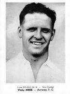 VICKY MEES ANTWERP F.C..(CHROMO ZIG ZAG N° 16) 12,5 X 9 CM (5) - Football
