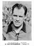 VAN POTTELBERGHE D. DARING C.B..(CHROMO ZIG ZAG N° 28) 12,5 X 9 CM (10) REEKS VOETBAL - Football