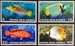 Papua New Guinea 1976 Tropical Fish MNH - Fische