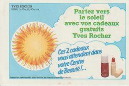 MORBIHAN : La Gacilly : YVES ROCHER : Ancienne Carte De Fidélité Pour 2 Cadeaux - La Gacilly
