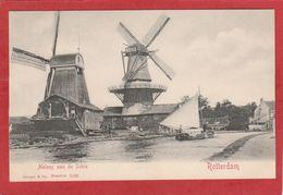 CPA: Moulin à Vent - Rotterdam - Molens Aan De Schie - Moulins à Vent