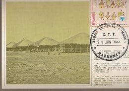 Mozambique & Maximum Card, International Year Of The Child, Marromeu, Communal Village 1982 (6897) - Mozambique