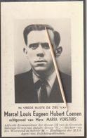 Oorlogsslachtoffer, 1945, Soldaat Marcel Coenen, Vorstens, Balen, Vorst, Berga-aan-den-Elster - Images Religieuses