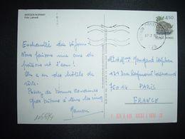 CP Pour La FRANCE TP CASTOR 4 50 OBL.MEC.07 7 95 BERGEN - Norwegen