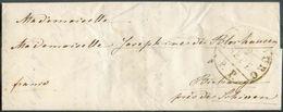 LAC DeLuxembourg Le 2 Septembre 1848avec Cachet Noir (réservé Aux Imprimés)LUXEMBOURG/P.P. 2 SEPT.vers Birtrange. RR - Luxembourg