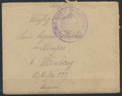 Brief Feldpost Stempel Festungslazarett Paixhansschule Metz Kompl. + 2-teiligen  - Besetzungen 1914-18