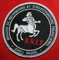 Ancien Authentique écusson  POLICE BRIF - Police & Gendarmerie