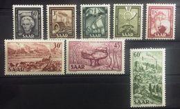 Sarre, Timbres Neufs * * (MNH), Numéros : Série : 283 à 290, Cote 75 Euros - Timbres