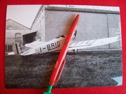 FOTO AEROPLANO  BREDA  A 2 MATRICOLA I-BRIO - Aviation