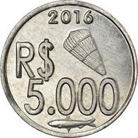 Monnaie, CABINDA, 5.000 Reais, 2016, SPL, Aluminium - Angola