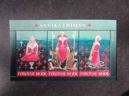 Faroe Islands 2011 Bl. Annika In Dimun MNH** - Islas Faeroes