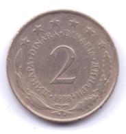 YUGOSLAVIA 1978: 2 Dinara, KM 57 - Yugoslavia