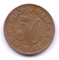 YUGOSLAVIA 1976: 50 Para, KM 46 - Yugoslavia