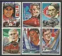 Comoros 1988 Mi 871-876 MNH ( ZS4 COM871-876 ) - Voitures