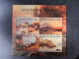 Faroe Islands 2015 Bl. Atkinson's Expedition To The Faroes MNH** - Faeroër