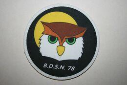 Ancien Authentique écusson  BDSN 78 - Police & Gendarmerie