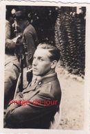 PHOTO ANCIENNE GUERRE 1939 1945 RESISTANT PIERRE DUNOYER DE SEGONZAC 4e REGIMENT DE CURASSIERS A PLANEZE NEUVIC DORDOGNE - Krieg, Militär