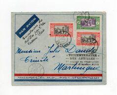 !!! VOL SPECIAL A L'OCCASION DU TRICENTENAIRE DES ANTILLES BORDEAUX - FORT DE FRANCE 9-22 DEC 1935 - Air Post