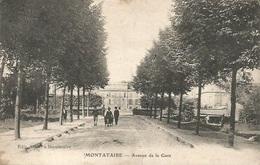 60 - MONTATAIRE - Avenue De La Gare - Montataire