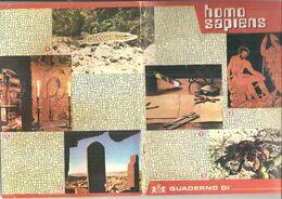 HOMO SAPIENS SUPERNIVEA  Quaderno Vintage QUADRETTI CON MARGINE  USATO - Other Collections