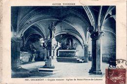 CPA 73 Chambéry Eglise De St Pierre De Lemenc Crypte N°1251 - Chambery