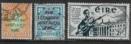 IRELAND 1941 EASTER RISING SETS SG 126/128 FINE USED Cat £14 - 1937-1949 Éire