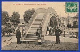 CPA 51 REIMS - La Nouvelle Passerelle De La Rue De Venise - Reims