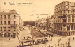 Ostende - L' Avenue Léopold Vers Le Parc - Tram - Ed. Tempère - Oostende