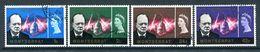 Montserrat 1966 Churchill Commemoration Set Used (SG 179-182) - Montserrat