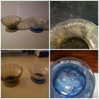 2 COUPES A FRUITS Ou A CHAMPAGNE SIGNEES DAUM NANCY - Verre & Cristal