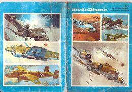 MODELLISMO AEREI II GM  Quaderno Vintage QUADRETTI  USATO - Other Collections