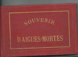 AIGUES MORTES - Album Souvenir 12 Vues - Aigues-Mortes